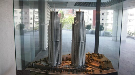 Fraser Place Anthill Istanbul : Model of the apartment