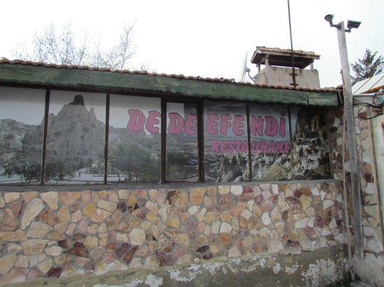 Dede Efendi Kaya Restaurant