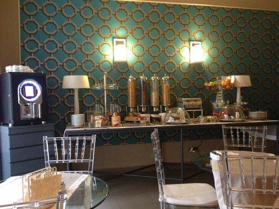 Hotel Gallery House: Breakfast area