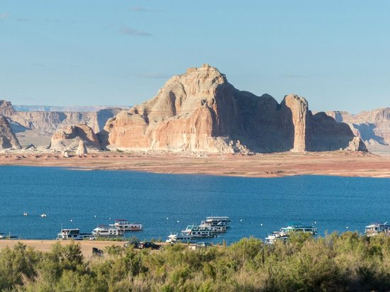 Lake Powell Resort: Exceptional view from balcony