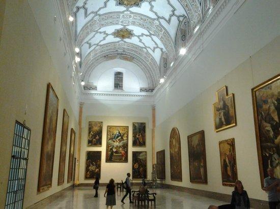 Museum of Fine Arts, Sevilla : La sala V se encuentra en la antigua iglesia y es impresionante.