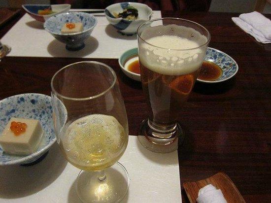 Awanoyu: 特典のビール