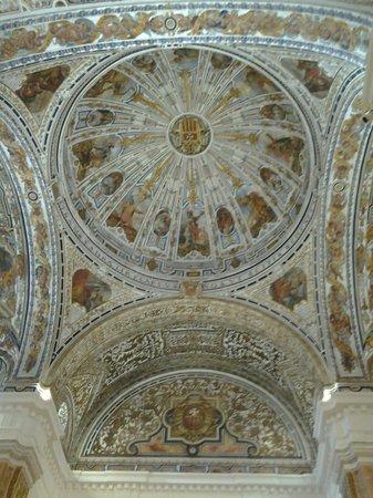 Museum of Fine Arts, Sevilla : La cúpula de la antigua iglesia del convento de la Merced.