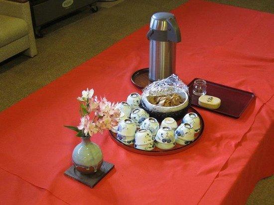 Awanoyu: 風呂上りの湯茶