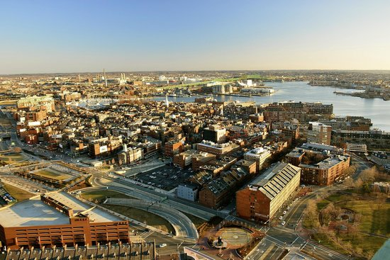 Marriott Vacation Club Pulse at Custom House, Boston: view from the observatory