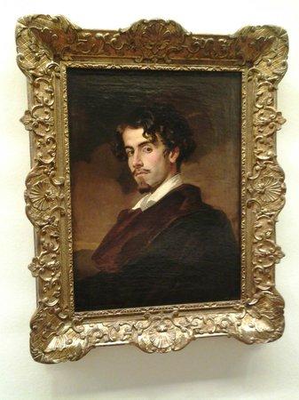 Museum of Fine Arts, Sevilla : El conocido retrato del poeta Bécquer.