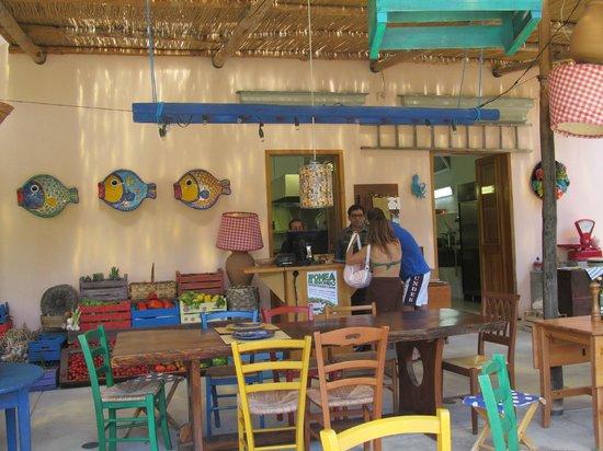 Negombo Giardini Termali : Здесь можно вкусненько перекусить в уютной обстановке. Готовят быстро.