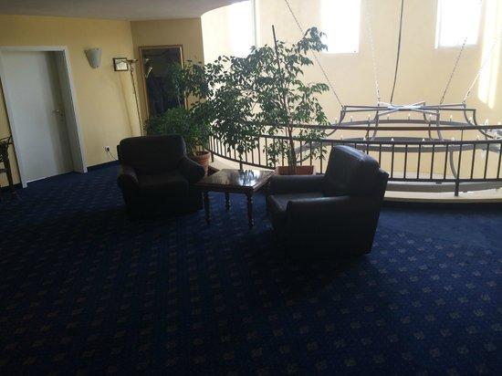 Hotel Landhaus Milser: Hol na I piętrze