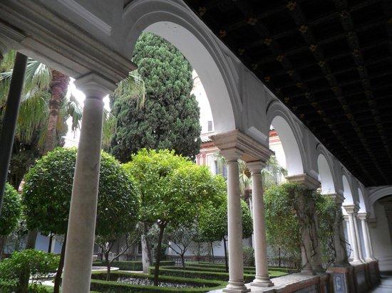 Museum of Fine Arts, Sevilla : Hermoso claustro del Museo de Bellas Artes de Sevilla.