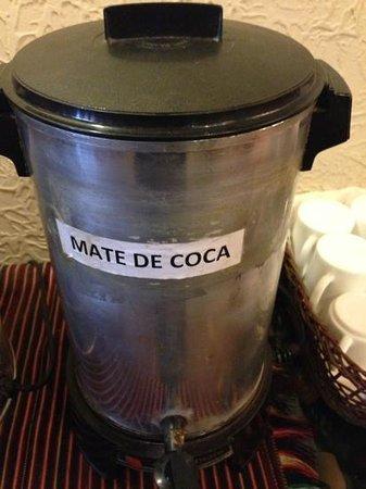 Hotel Rosario La Paz: Tea at the lobby