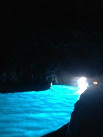 Blaue Grotte (Grotta Azzurra): Inside Blue Grotto