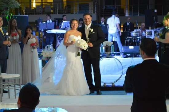 Baia Lounge: my wedding night