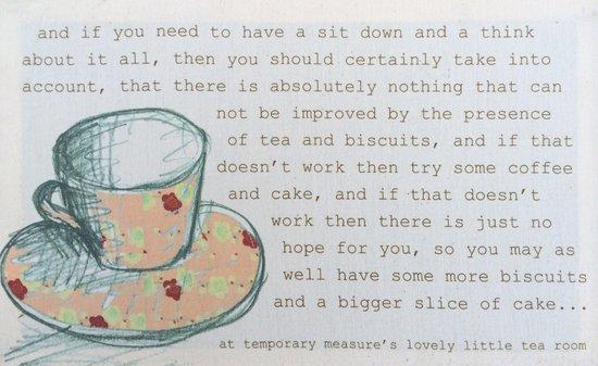 Temporary Measure: Their wisdom..