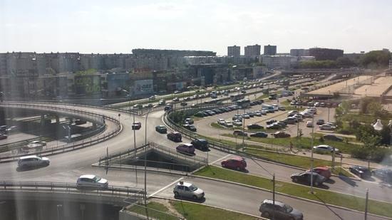 IN Hotel Belgrade: view from room