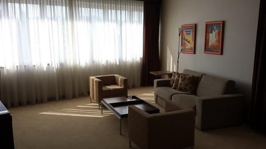 IN Hotel Belgrade: lounge in the delux suite