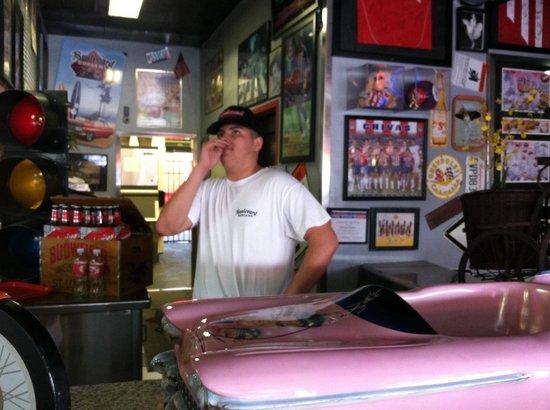 Boulevard Burgers: Friendly staff