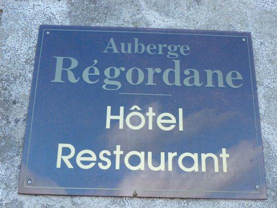Auberge La Regordane : Arrivée dans le village