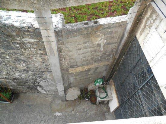 Hotel Orquidea: Vue sur un mur