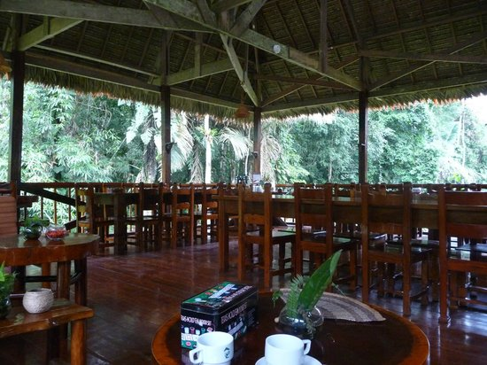 Tambopata Research Center: Dining room