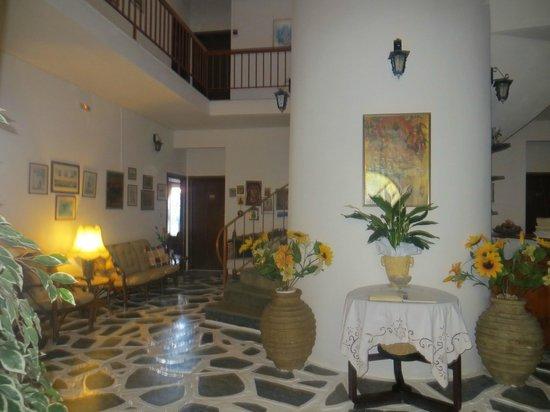 Grikos Hotel: hall