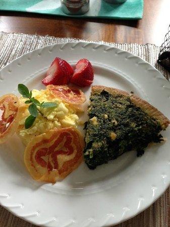 Saltwater Inn : AMAZING breakfast