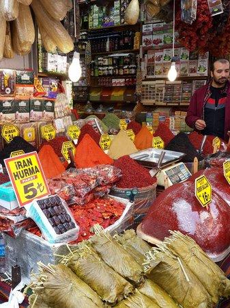 Egyptian Bazaar : colour of the spices