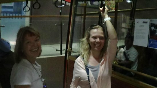 Wellington Cable Car : В вагончике