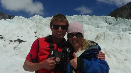 Franz Josef Glacier: С инструктором