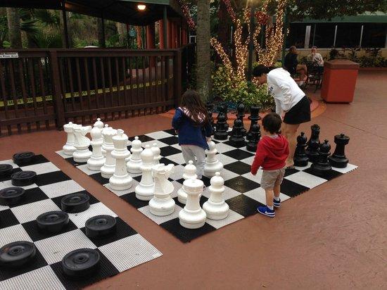 Radisson Resort Orlando-Celebration : ajedrez gigante