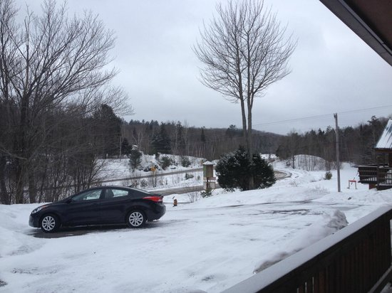 Nordic Inn: winterly landscape viewed from my room
