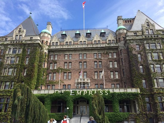 The Fairmont Empress : Facade