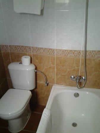 Hotel Zaida : Cuarto de baño.