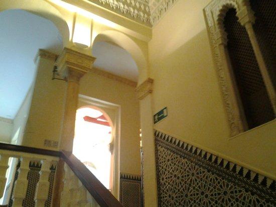 Hotel Zaida: Interior del hotel.