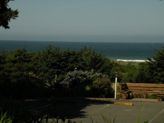 Ireland's Rustic Lodges: Ocean view from the Garden Rooms
