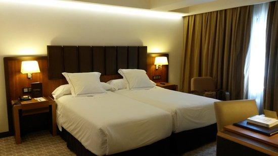 Hotel Claridge: la nostra stanza doppia...