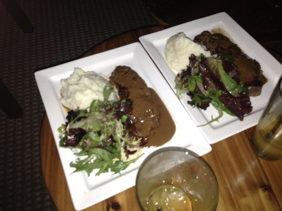 Haven Rooftop NYC: The most tender steak!