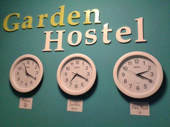 Garden Hostel: ресепшн / reception
