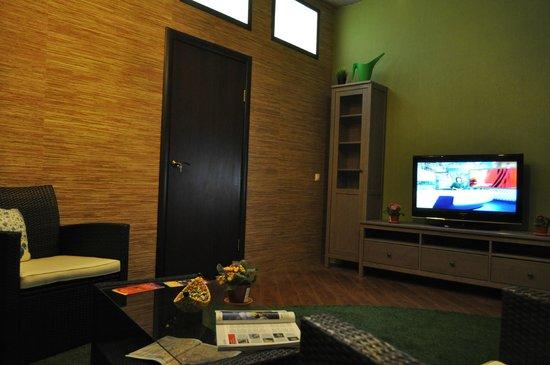 Garden Hostel: гостинная / lounge