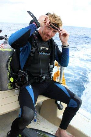 Aqua Safari Dive Shop: Muchas Gracias Antonio and Staff!!