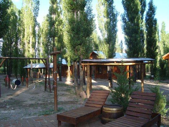 Cabanas Uspallata: Cabanas a 1 Km do centrinho de Uspallata.
