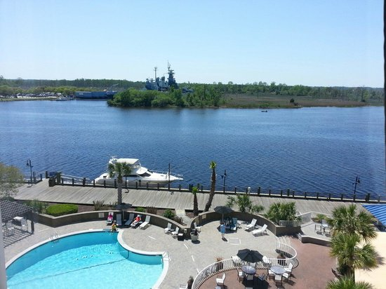 Hilton Wilmington Riverside : View from the room