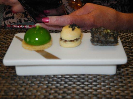 Castle Terrace Restaurant: Amuse bouche
