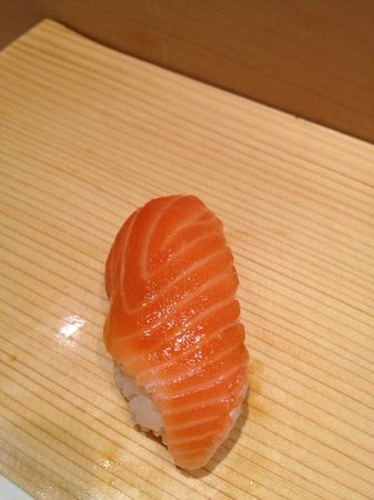 Sushi Bar Yasuda: Norwegian Salmon