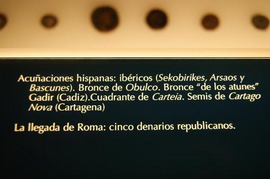 Museo de Leon : monedas