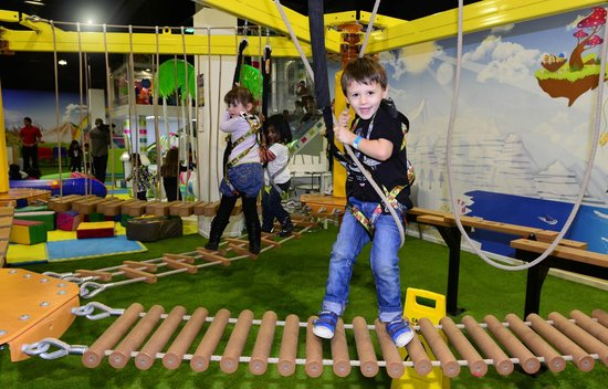 The Ropes Course at Merry Hill.