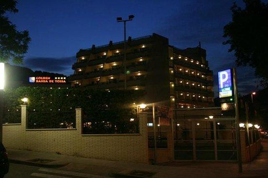 Golden Bahia de Tossa : Hôtel de nuit !