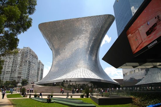 Las Alcobas: Museo Soumaya ... just walk there