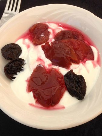 Hepworth Guest House : delicious homemade yogurt