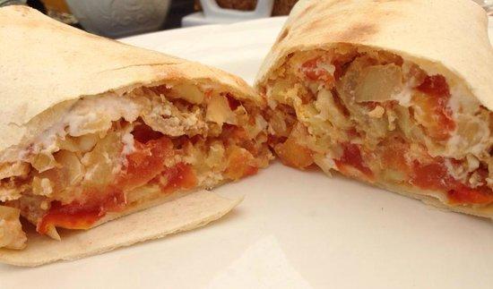 Hepworth Guest House: amazing burrito!