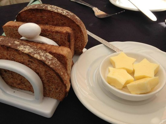 Hepworth Guest House: so cute, the star butter